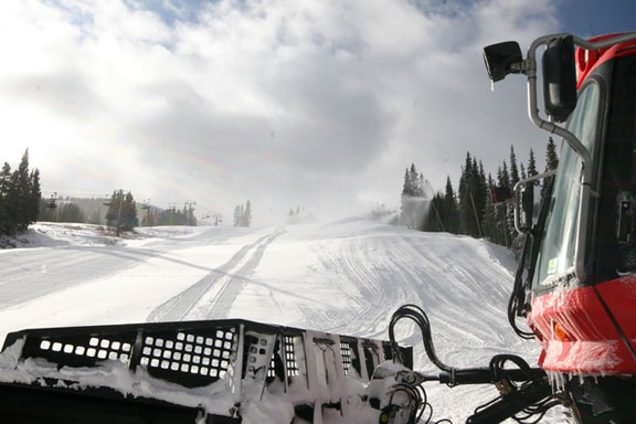 The view at Copper Mountain, Thursday, Nov. 6, 2008. (Courtesy Copper Mountain)