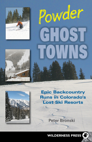 Powder Ghost Towns book cover.